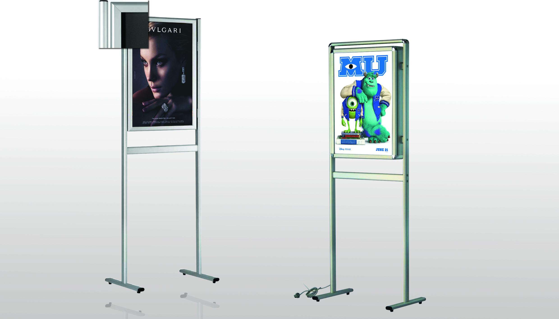 Poster Stand sa klik poster ramom