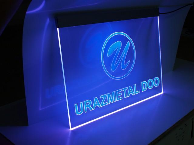 KANT LED Gravirana Reklama RGB