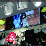 FL80 LED Svetleca tekstilna reklama