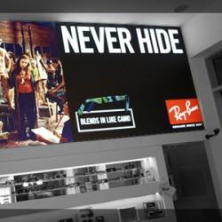 FL80 LED Svetleca Reklama Tekstil